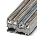 Клеммный модуль для подключения датчиков и исполнительных элементов - PTIO 1,5/S/3-L-R100K/O-M 120V - 3209034