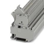 Клеммы для установки предохранителей - ST 4-HESILED 24 (5X20) GY/GY - 3036552