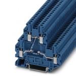 Клеммный блок - UTTB 2,5-2R BU/NAMUR - 3046672