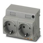 Двойная розетка - EO-CF/PT/LED/DUO - 0804049