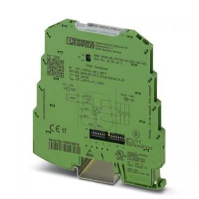 Измерительный преобразователь температуры - MINI MCR-SL-PT100-UI-200-SP-NC - 2864202