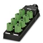 Коробка датчика и исполнительного элемента - SACB-8Q/4P-L-SC - 1662955