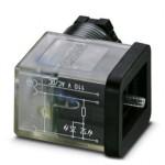 Штекерный модуль для электромагнитного клапана - SACC-VB-3CON-M16/B-1L-SV 110V - 1452217