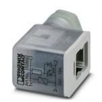 Штекерный модуль для электромагнитного клапана - SACC-V-3CON-PG9/B-1L-SV 24V - 1528002
