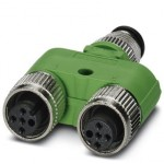 Y-разветвитель - SAC-3P-M12Y/2XM12FS B PE - 1683413
