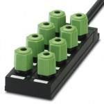 Коробка датчика и исполнительного элемента - SACB-8Q/4P- 5,0PUR - 1683701