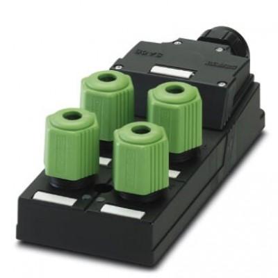 Коробка датчика и исполнительного элемента - SACB-4Q/4P-L-SC NPN - 1680856