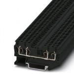 Клеммный блок - ST 2,5-QUATTRO-BE BK - 3028924