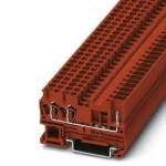 Проходные клеммы - ST 2,5-TWIN/ 1P RD - 3061237