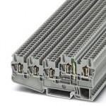 Клеммный модуль для подключения датчиков и исполнительных элементов - STIO 2,5/4-3B/L-LA24GN/O-M - 3209167