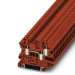 Проходные клеммы - UT 4-TWIN RD - 3044365