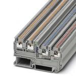 Клеммный модуль для подключения датчиков и исполнительных элементов - PTIO 1,5/S/3-LED 24 GN - 3244436