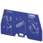 Разделительная пластина - PT-IQ-EX-L-PP - 2905023