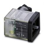 Штекерный модуль для электромагнитного клапана - SACC-VB-3CON-M16/BI-1L-SV 110V - 1452246