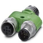 Y-разветвитель - SAC-5P-M12YF/M12FS-M12MS VP - 1526253