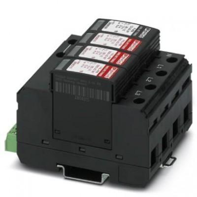 Разрядник для защиты от импульсных перенапряжений, тип 2 - VAL-MS 320/3+1/FM-UD - 2856689