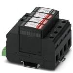 Разрядник для защиты от импульсных перенапряжений, тип 2 - VAL-MS 230/3+1/FM-UD - 2858959