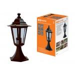 Светильник 6060-14 садово-парковый шестигранник, 60Вт, стойка, бронза