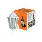 Светильник 6100-21 садово-парковый шестигранник, 100Вт, вверх, белый