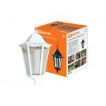 Светильник 6100-25 садово-парковый шестигранник, 100Вт, подвес,белый