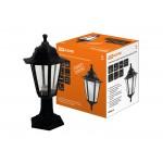 Светильник садово-парковый НТУ 06-60-001 шестигранник, стойка, пластик, черный TDM