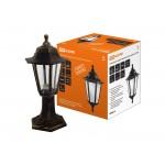 Светильник садово-парковый НТУ 06-60-001 шестигранник, стойка, пластик, бронза TDM