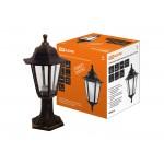 Светильник садово-парковый НТУ 06-60-001 шестигранник, стойка, пластик, медь TDM