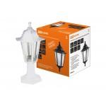 Светильник садово-парковый НТУ 06-60-001 шестигранник, стойка, пластик, белый TDM