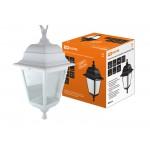 Светильник садово-парковый НСУ 04-60-001 четырехгранник, подвес, пластик, белый TDM