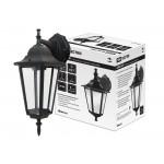 Светильник 6060-02Р садово-парковый шестигранник, 60 Вт, вниз, черный,  в разборе, Ч/Б, TDM