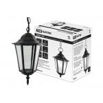 Светильник 6060-05Р садово-парковый шестигранник, 60 Вт, подвес, черный,  в разборе, Ч/Б, TDM