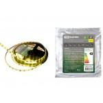 Лента светодиодная SMD2835-60 LED/м-IP65-12 В-4,8 Вт/м-желтый (5 м) TDM