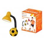 Светильник Футбольный мяч настол. 40Вт Е27 желто-черный TDM