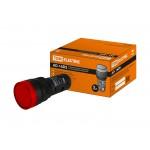 Лампа AD-16DS(LED)матрица d16мм красный 110В AC/DC TDM