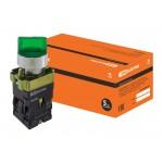 Переключатель BK 2365  2 положения зеленый 1з+1р TDM