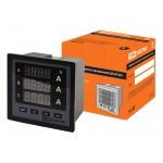 Цифровой амперметр ЦП-А72х3 0-50кА-0,5 (трехфазный) TDM
