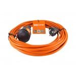Удлинитель-шнур силовой УШ10 TDM (штепс. гнездо, 50м ПВС 2х1,0)