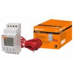 Реле температуры РТ-820M (-25+130C, 24-240В АС/DC, с датч. IP67, ЖК) TDM